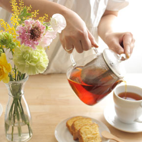 <span>ご自宅に飾る花</span>ご自宅へ飾るオシャレなミニブーケ