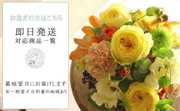即日配送祝花