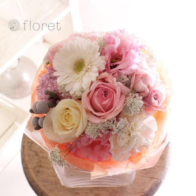 ピンク系花束・ブーケ(3,500円)サンプル画像8