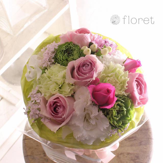 ピンク系花束・ブーケ(3,500円)サンプル画像9