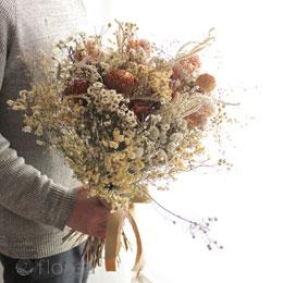 たっぷり小花のドライフラワーブーケ