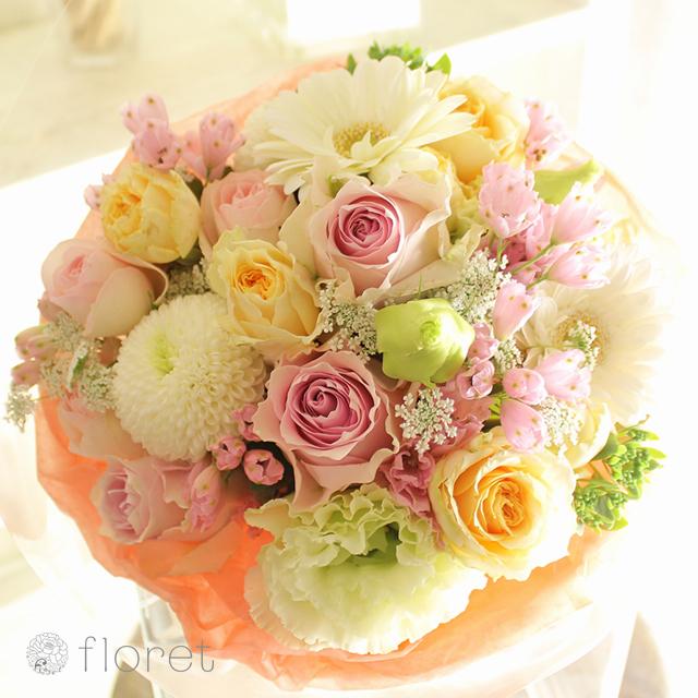 ピンク系花束・ブーケ(8,000円)サンプル画像3
